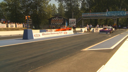 HD2009-6-27-36 motorsports, drag racing promod 55 chevy... Stock Video Footage