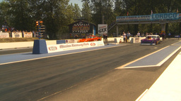HD2009-6-27-36 motorsports, drag racing promod 55 chevy launch Footage