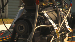 HD2009-6-27-38 motorsports, drag racing promod edges to... Stock Video Footage