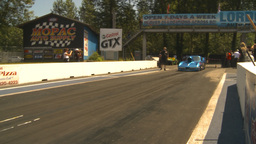HD2009-6-27-40 motorsports, drag racing promod corvette... Stock Video Footage