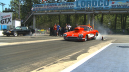 HD2009-6-27-46 motorsports, drag racing doorslammer corvette burnout Footage