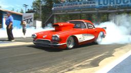 HD2009-6-27-46 motorsports, drag racing doorslammer... Stock Video Footage