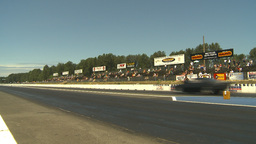 HD2009-6-27-48 motorsports, drag racing doorslammer launch Stock Video Footage