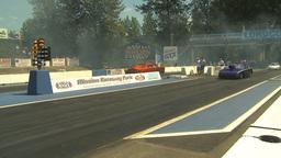 HD2009-6-27-50 motorsports, drag racing doorslammer launch Stock Video Footage