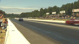 HD2009-6-27-50 motorsports, drag racing doorslammer launch Stock Video Footage