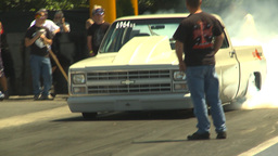 HD2009-6-27-52 motorsports, drag racing doorslammer... Stock Video Footage