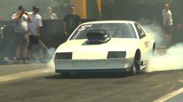 HD2009-6-27-54 motorsports, drag racing doorslammer... Stock Video Footage