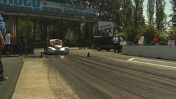 HD2009-6-27-56 motorsports, drag racing doorslammer... Stock Video Footage