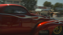 HD2009-6-27-56 motorsports, drag racing doorslammer... Stock Video Footage