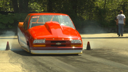HD2009-6-27-58 motorsports, drag racing doorslammer... Stock Video Footage