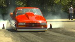 HD2009-6-27-58 motorsports, drag racing doorslammer... Stock Video Footage