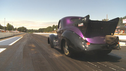 HD2009-6-27-70 motorsports, drag racing doorslammer... Stock Video Footage