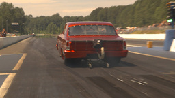 HD2009-6-27-82 motorsports, drag racing nova launch Stock Video Footage