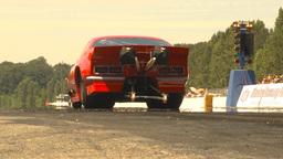 HD2009-6-27-86 motorsports, drag racing doorslammer... Stock Video Footage