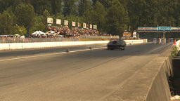 HD2009-6-28-9 Motorsports, drag racing, top end doorslammer Stock Video Footage