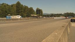 HD2009-6-28-11 Motorsports, drag racing, top end doorslammer Stock Video Footage