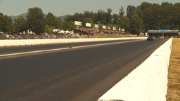 HD2009-6-28-13 Motorsports, drag racing, top end doorslammer Stock Video Footage