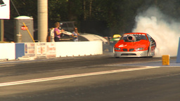 HD2009-6-28-19 Motorsports, drag racing, mid track pro... Stock Video Footage