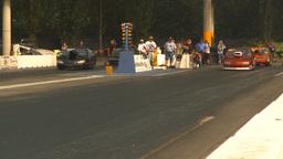 HD2009-6-28-21 Motorsports, drag racing, mid track doorslammer run Footage