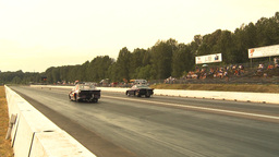 HD2009-6-28-21 Motorsports, drag racing, mid track... Stock Video Footage