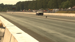 HD2009-6-28-23 Motorsports, drag racing, mid track... Stock Video Footage