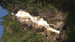 HD2009-6-29-12 VERTICAL shannon falls Stock Video Footage