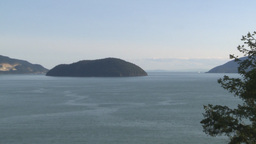 HD2009-6-29-20 Ferry Sea to sky Z Stock Video Footage