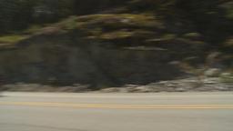 HD2009-6-30-9 Sea to sky highway pan Stock Video Footage