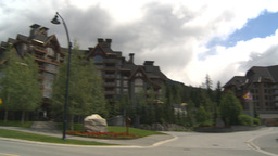 HD2009-6-30-11 whistler village montage Stock Video Footage