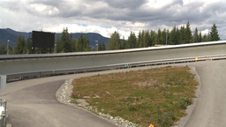 HD2009-6-30-17 whistler bobsled track Footage