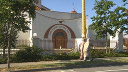HD2009-6-31-1b Sikh temple montage Stock Video Footage