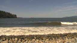 HD2009-6-31-9 shore to lions gate bridge Stock Video Footage