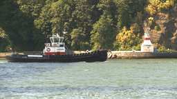 HD2009-6-31-11 tug boat follow Footage