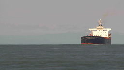 HD2009-6-31-15 tug boat cargo ships TL Stock Video Footage