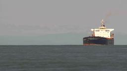 HD2009-6-31-15 tug boat cargo ships TL Stock Video Footage