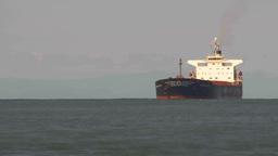 HD2009-6-31-15 tug boat cargo ships TL Footage
