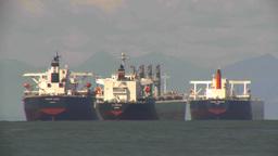 HD2009-6-31-19 cargo ships LLL TL Footage