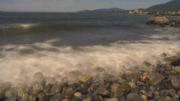 HD2009-6-31-23 beach and surf surreal Stock Video Footage