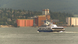 HD2009-6-31-33 harbor ferry Stock Video Footage
