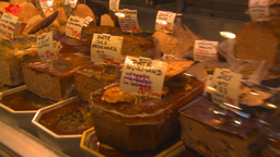 HD2009-6-31-39 Granville island market deli meat seafood... Stock Video Footage