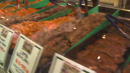 HD2009-6-32-2 meat sausage cuts lots Footage