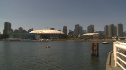 HD2009-6-32-27 BC Place Stock Video Footage