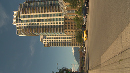 HD2009-6-32-30 traffic and condo VERTICAL Stock Video Footage