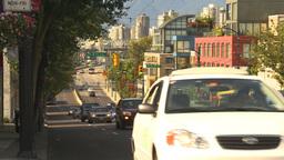 HD2009-6-32-40 traffic on street Stock Video Footage