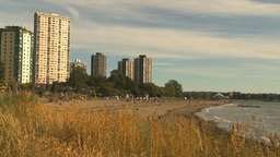 HD2009-6-32-44 English bay Stock Video Footage