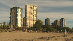 HD2009-6-32-46 condos and beach Footage