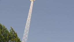 HD2009-6-33-10 fulfrum ride Stock Video Footage
