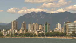 HD2009-6-33-34 skyline mountains condos Stock Video Footage