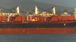 HD2009-6-34-27 carg ship asses condos Stock Video Footage