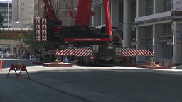 HD2009-6-36RC-1 mammoet crane 3shot Stock Video Footage